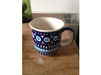 Polish Pottery Mug/Cup