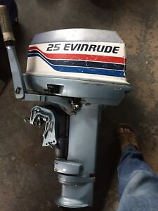 25hp evinrude outboard