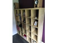 IKEA shelving unit excellent cond . 6ft x 6ft maple