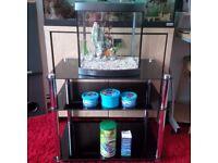 Fish Tank Aquarium 28L plus stand
