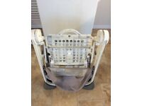Hardly used Chico highchair, excellent condition.