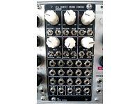 ADDAC 802 VCA/mixer eurorack synth module