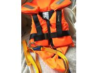 Baltic life jacket. Child. With tether strap.