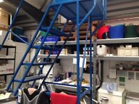 10 step mobile ladder-2500mm hight