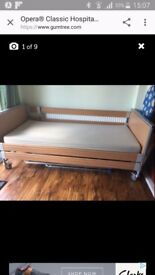 Hospital/home/hospice bed. Electric adjustment good condition
