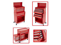 MULTIFUNCTION PORTABLE 6 DRAWERS TOOL TOP CHEST STEEL ROLLER CABINET STORAGE BOX