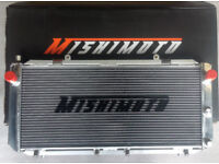 GENUINE MISHIMOTO PERFORMANCE ALUMINIUM RADIATOR TOYOTA MR2 SW20 TURBO NA 3SGTE 3SGE REV 1 - 5