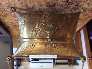 Vintage brass purse