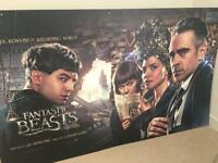 Movie Poster from Fantastic Beasts Premiere