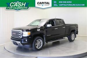 2015 GMC Canyon Crew Cab 4WD SLT **New Arrival**