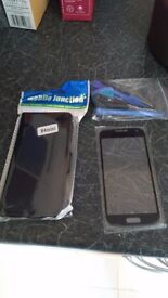Samsung galaxy S4 mini screen cover and case protector