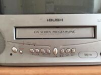 Bush TV with integrated video recorder