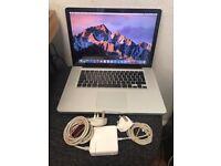 "Apple Macbook Pro A1286 MC721LL/A 15.3"" 4GB 500GB Sata Disk"