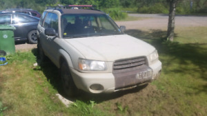 Subaru Forester (needs work or parts)
