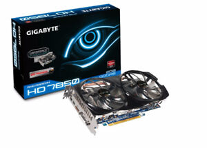 GV-R785OC-2GD  Gigabyte AMD Radeon HD 7850 GPU Graphic Card