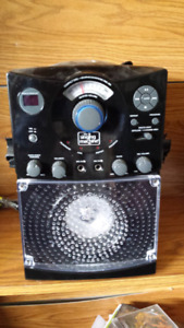 Karaoke Machine with party lights
