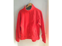 Ladies Sprayway Morph 2315 Fleece Jacket Red with Pockets Size 14