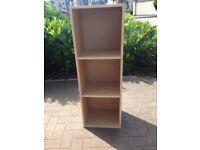 Muji 3 Case Book Shelf Excellent Condition