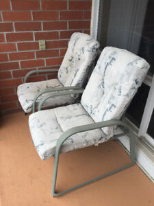 TWO CHAIRS + TABLE $80 OBO