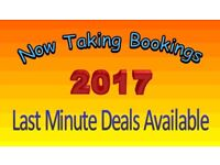 Late Caravan Deal (August 21st to 26th) 5 Nights