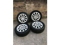 5x110 16 Inch Alloys With Tyres