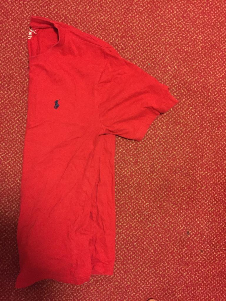 Ralph Lauren t-shirt red