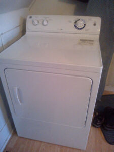Washer /dryer/small chest freezer/stove.