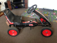 Go Kart - Black and Red