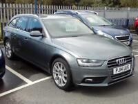 AUDI A4 2.0 TDI 177 SE Technik Multitronic (grey) 2014