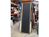 Notice blackboard framed