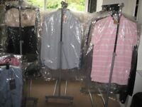 Huge joblot of designer clothes (over 160 items) - Ready for resale