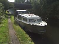 CABIN CRUISER . Now reduced for quick sale. £4750 ono