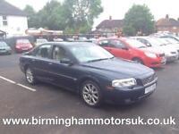 2003 (03 Reg) Volvo S80 2.5 T SE AUTOMATIC 4DR Saloon BLUE + LONG MOT