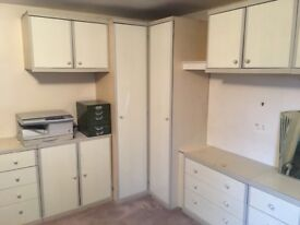 Fitted wardrobes for sale.