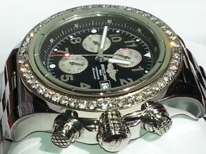 BREITLING SUPER AVENGER 48MM, 48 BIG DIAMONDS 7000$