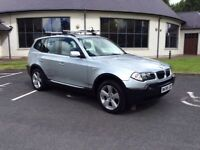 Late 2005 BMW X3 2.0D SPORT Full Years Mot Service History only £3950