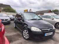 Vauxhall Corsa 1.2 i 16v SXi 3dr, 2004 (04 reg) Hatchback 93,475 miles Manual Petrol MOT 30/07/2018
