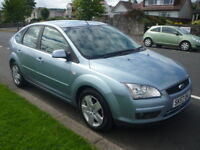 Ford Focus 1.6i 16V 100BHP STYLE **Full Service History** (blue) 2007