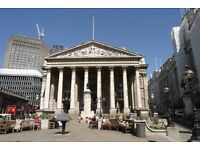 Serviced Offices in * Bank Station-EC3V * Office Space To Rent