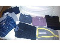shirts, jumper, cardigan