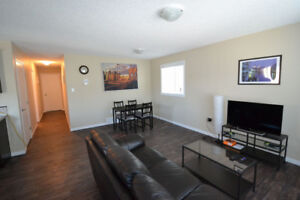Fully furnished 3-bedroom suite, near downtown