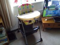 """Child's high chair """"Chico"""""""