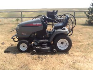 Craftsmen 25hp GT5000 Garden Tractor and attachments