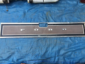 Ford tailgate cover