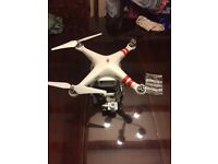 DJI Phantom 2 Vision Plus with case and spares