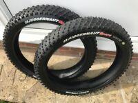 Fatbike kenda juggernaut tyres 4.5 x26