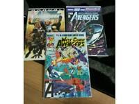 35 MARVEL COMICS. avengers,New avengers,