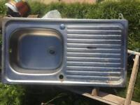 Steel Kitchen sink. Only £15 or near offer Collection or delivery