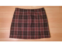 Cooperative by Urban Outfitter Tartan Pleated Skirt - Size Medium