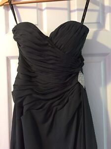 Strapless Bill Levoff  Dress
